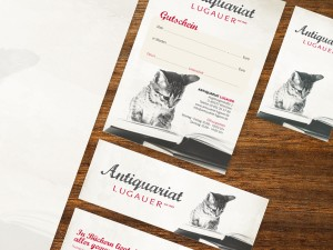 Antiquariat Lugauer Corporate Design