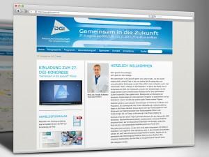 DGI e.V. Kongresswebsite