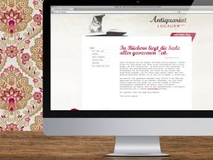 Antiquariat Lugauer Website