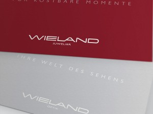 Wieland Juwelier Corporate Design