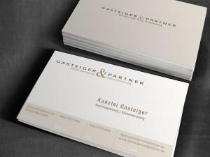 Gasteiger & Partner Geschäftsausstattung