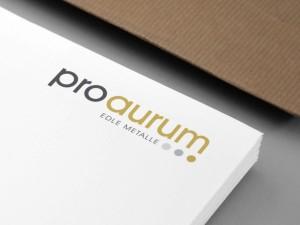 pro aurum Logoentwicklung